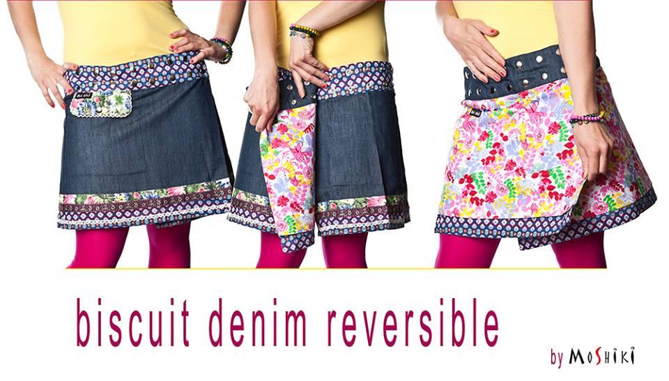 MOSHIKI 40 cm - Jeans-Röcke