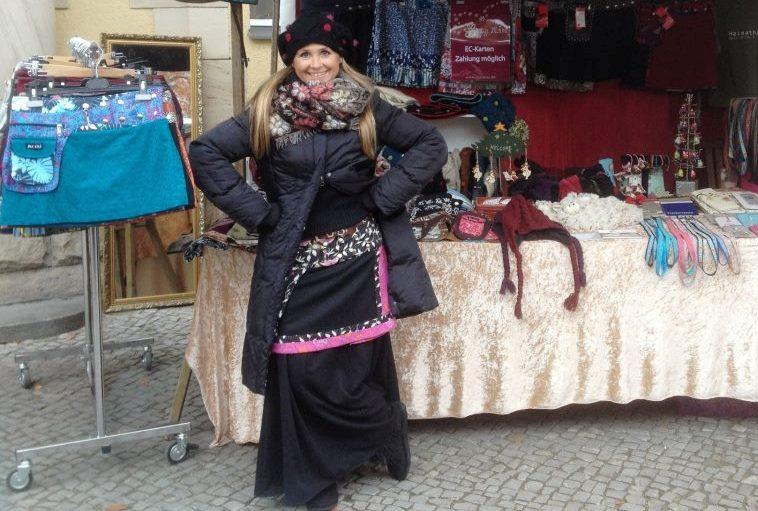 MOSHIKI kurze Woll-Wickel-Röcke