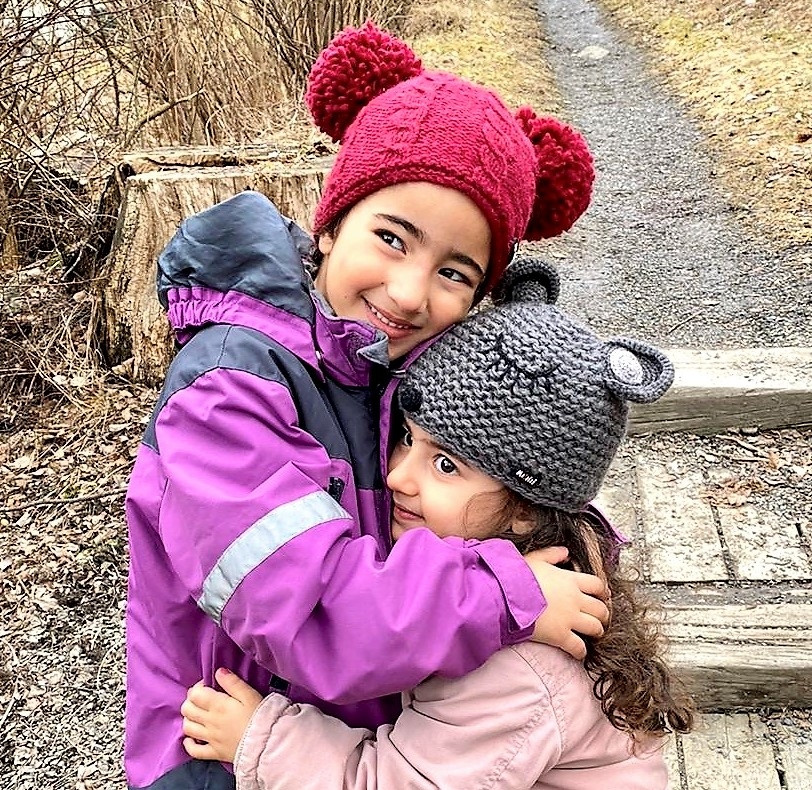 Moshiki Maus Kinder-Mütze grau