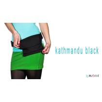Moshiki Hot Belt Kathmandu mit praktischen Unterteilungen für Handy & co schwarz