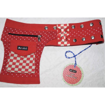 Moshiki Hot Belt YOFI Die praktischde Hip Bag für Handy & co 7837 rot
