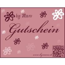 by Manu Geschenkgutscheine 25,00€