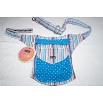 Moshiki Hot Belt #8 geräumige Hüfttasche mit praktischen Unterteilungen 8591 türkis