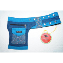 Moshiki Hot Belt YOFI Die praktischde Hip Bag für Handy & co 9415 blau